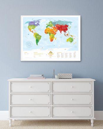 Travel Map Kids