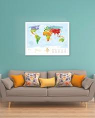 Travel Map Kids3