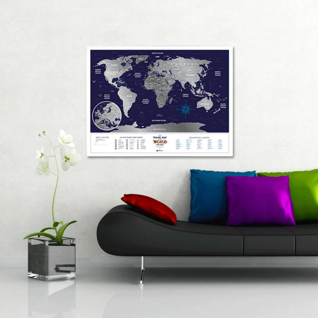 Travel Map Holiday