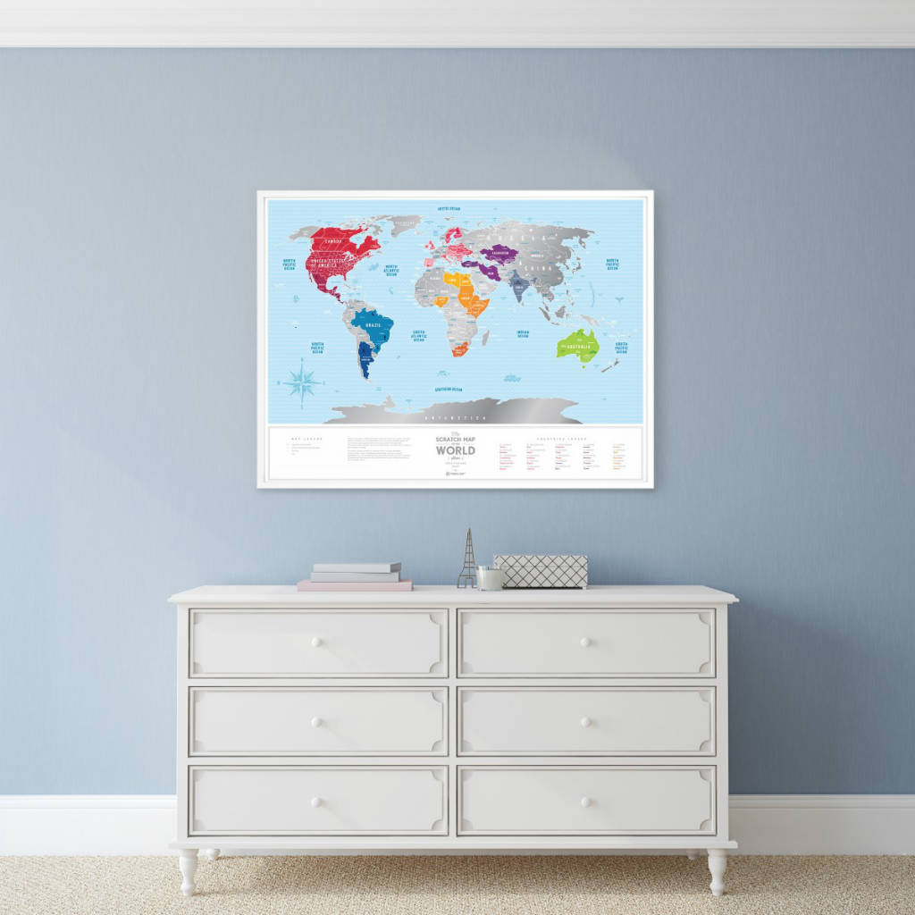 Travel Map Silver