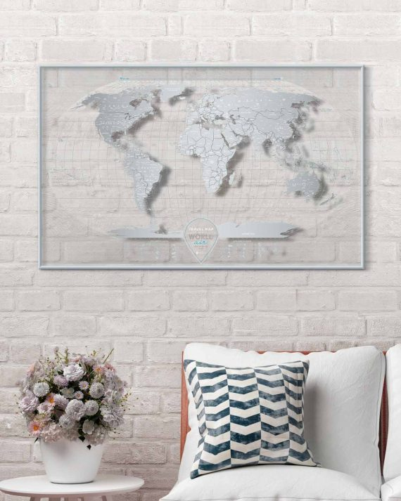 Travel Map® AIR World