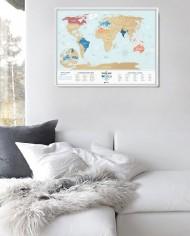 Travel Map Holiday LAGOON World