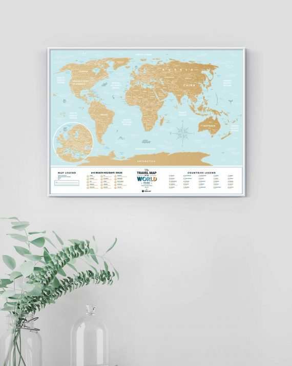 Travel Map® Holiday Lagoon World
