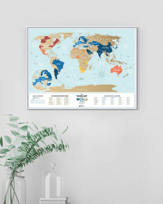 Travel Map® Holiday Lagoon World