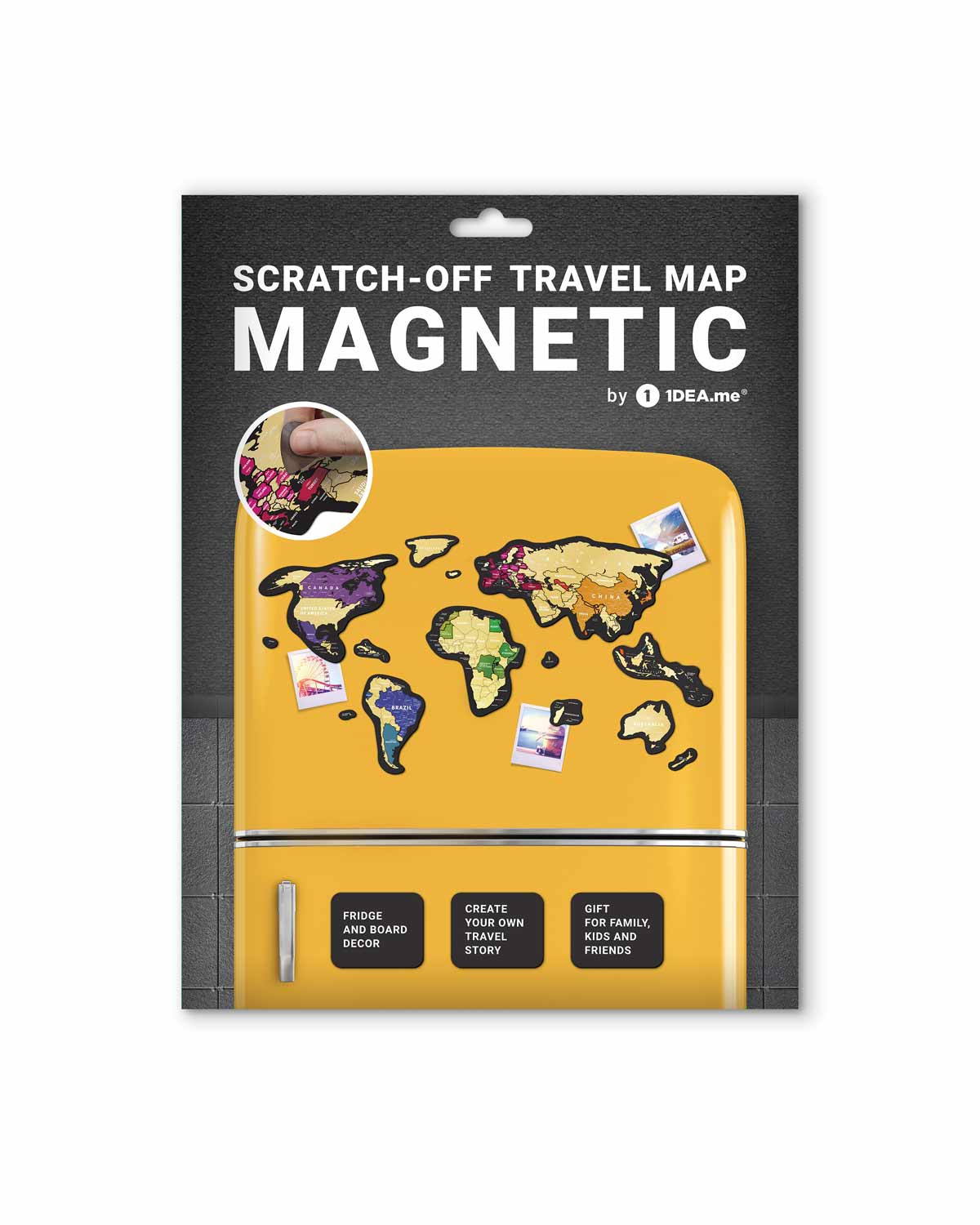 Travel Map® MAGNETIC World