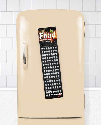 Постер 100 блюд #100ДЕЛ FOOD edition