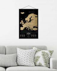 Travel Map® Black Europe