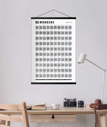 Постер достопримечательностей #100 Wonders