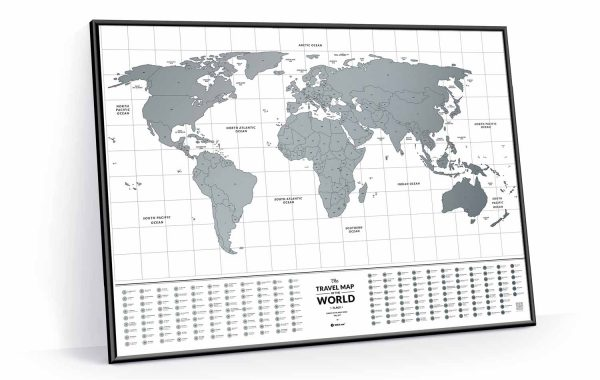 Travel Map® Flags World