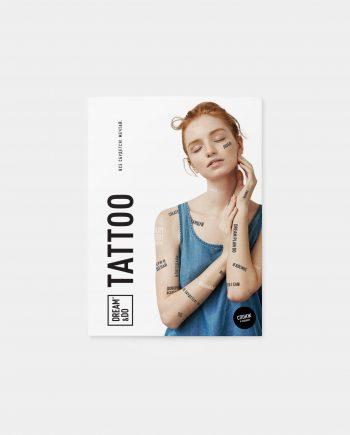 временные тату фразы Dream&Do Tattoo