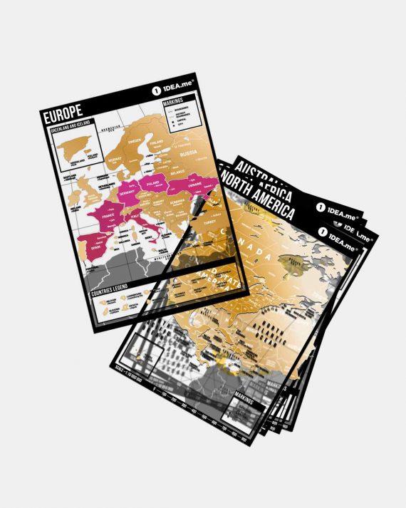 Планер путешествий Travel Map® Book