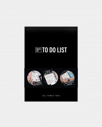 блокнот для чеклистов и списков Dream&Do To DO