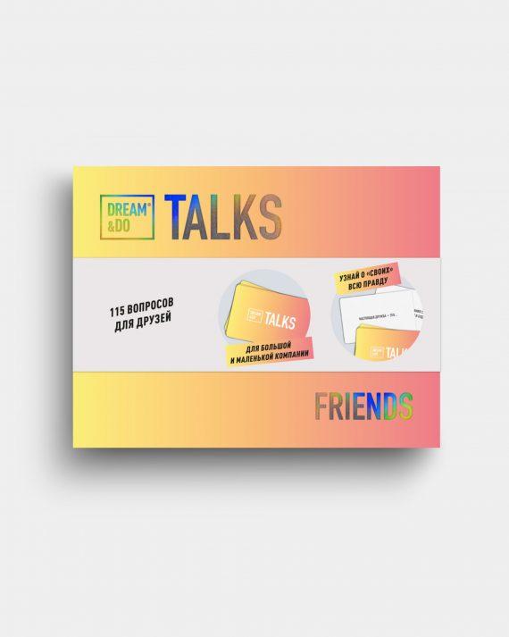 настольная игра-разговор карточки для вечеринки друзей Dream Do Talks