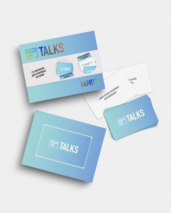 настольная игра-разговор карточки для семьи Dream Do Talks