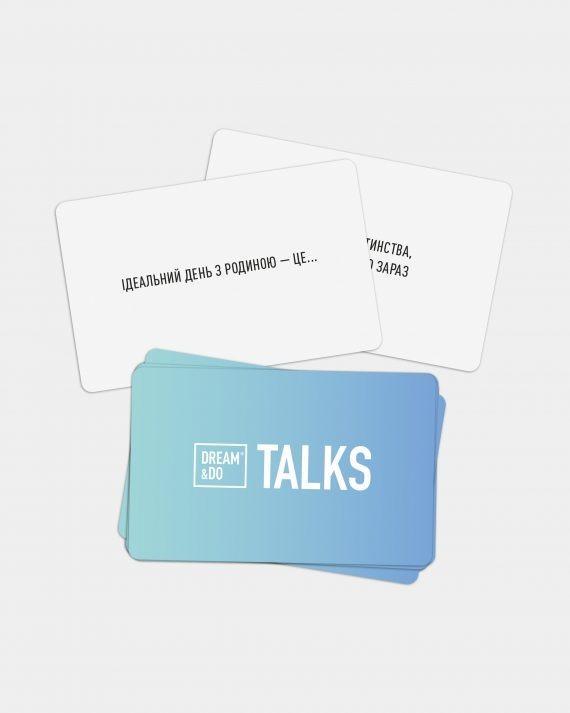 Гра-розмова картки з питаннями для родини Dream&Do Talks Family