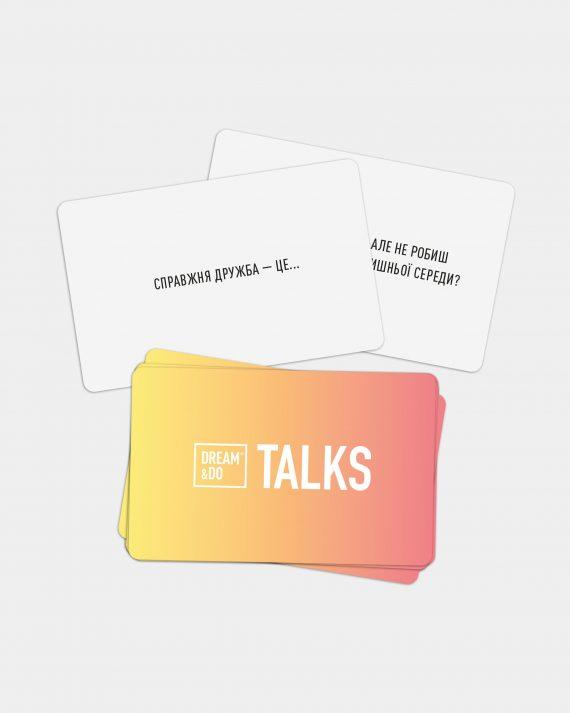Гра-розмова картки з питаннями для друзів Dream&Do Talks Friends