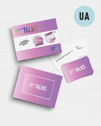 Гра-розмова картки з питаннями для закоханих Dream&Do Talks Love