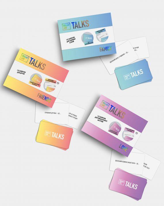 Гра-розмова картки з питаннями Dream&Do Talks